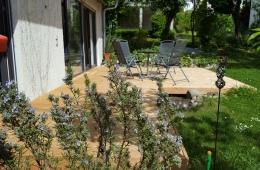 Terrasse und Garten Haus2